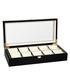 Black 10-watch collector case Sale - mathis montabon Sale