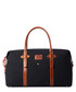 Black & tan leather weekend holdall Sale - woodland leathers Sale