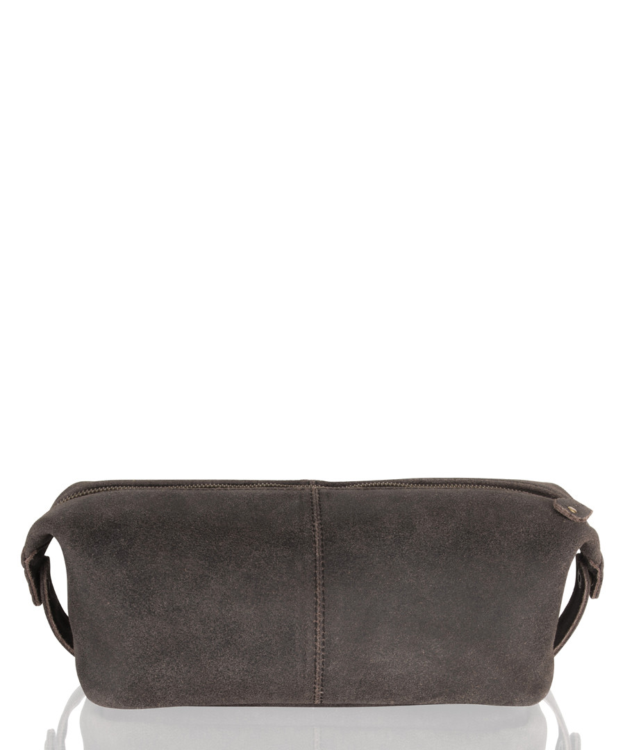 Brown leather mini pouch bag  Sale - woodland leather
