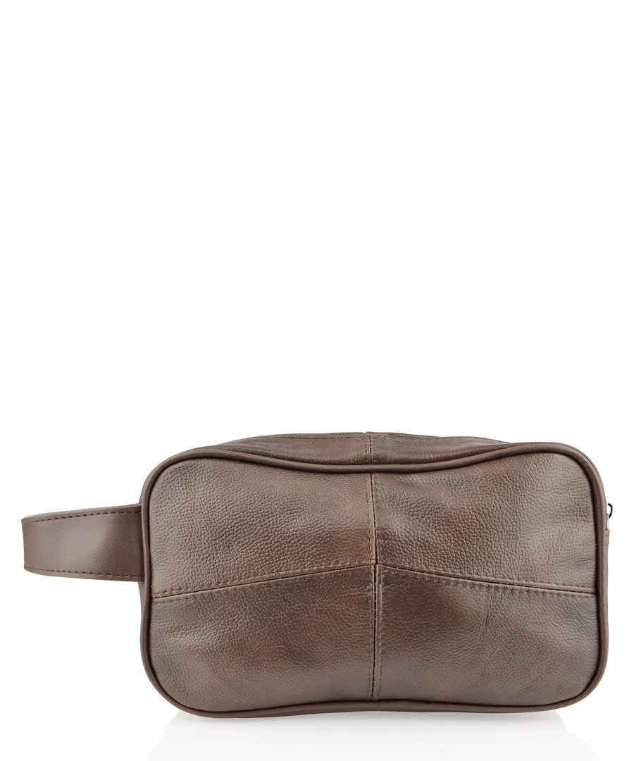 Brown leather document holder  Sale - woodland leathers