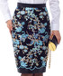 Light blue floral printed midi skirt Sale - Iren Klairie Sale