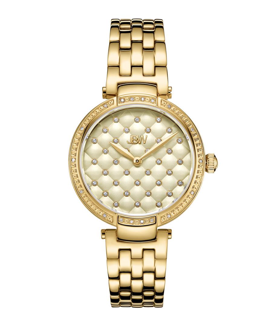 Gala 18k gold-plated steel watch Sale - jbw