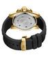 Delmare 18k gold-plated & black watch Sale - jbw Sale