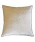 Luxe champagne velvet cushion 55cm Sale - riva paoletti Sale