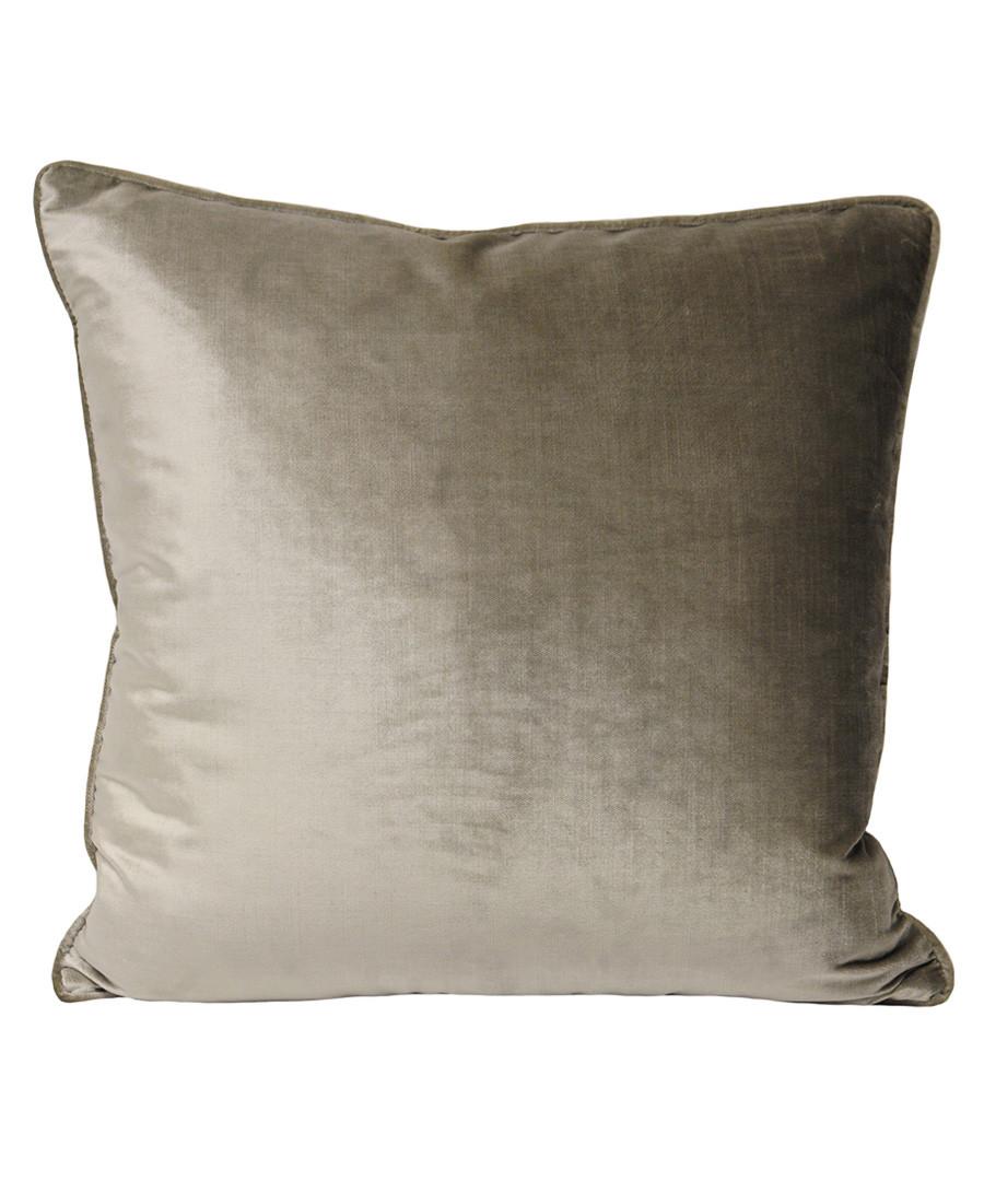 Luxe mink velvet cushion 55cm Sale - riva paoletti