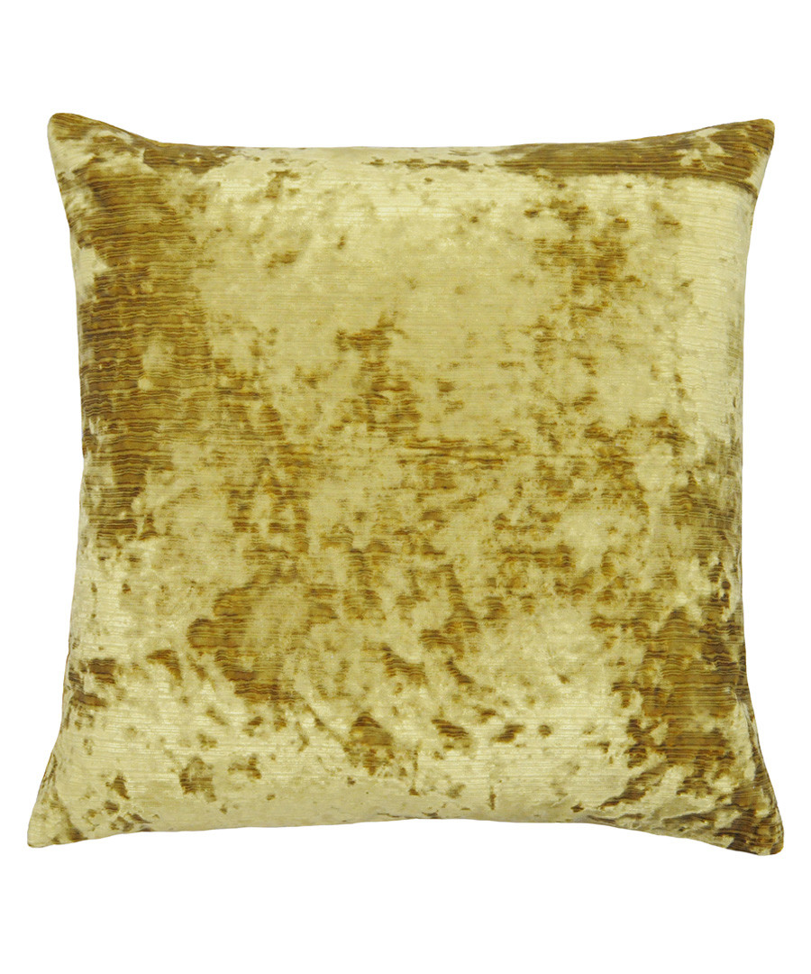 Neptune amber velvet cushion 58cm Sale - riva paoletti
