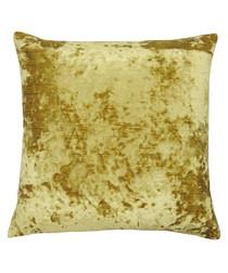 Neptune amber velvet cushion 58cm