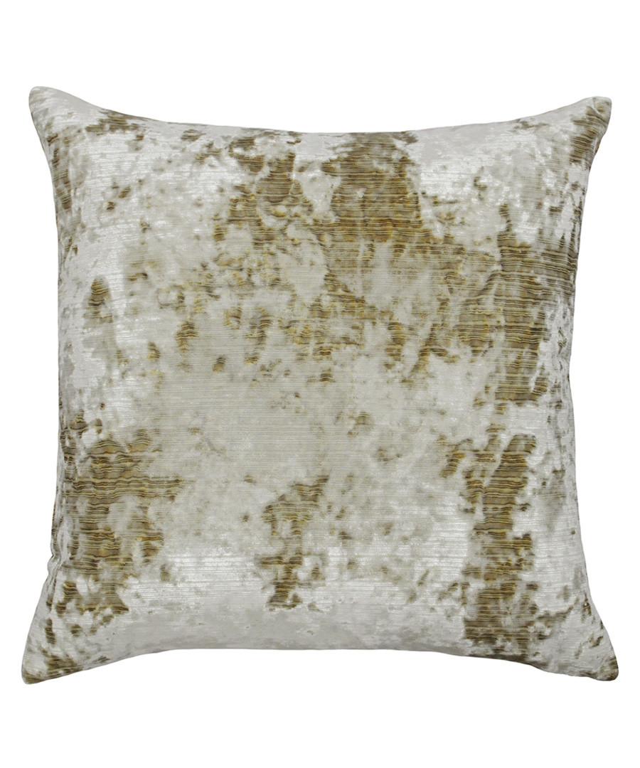 Neptune gilt velvet cushion 58cm Sale - riva paoletti