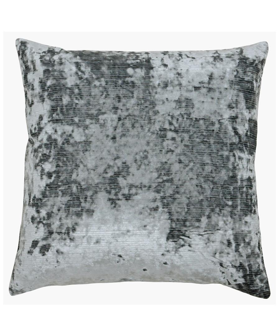 Neptune graphite velvet cushion 58cm Sale - riva paoletti