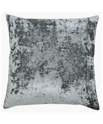 Neptune graphite velvet cushion 58cm