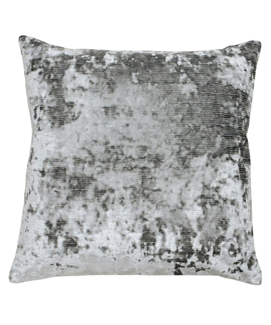 Neptune pewter velvet cushion 58cm Sale - riva paoletti