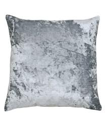 Neptune pyrite velvet cushion 58cm