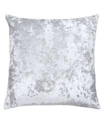 Neptune quartz velvet cushion 58cm