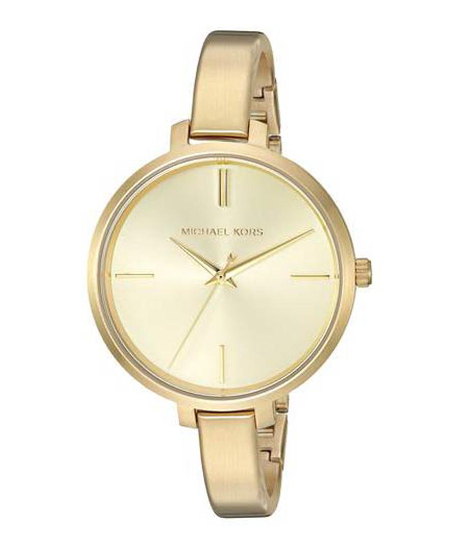 cadaaead95817 Jaryn gold-tone thin strap watch Sale - Michael Kors