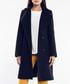 Black wool blend double-breasted coat Sale - rita koss Sale