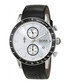 Black & silver-tone leather watch Sale - Hugo Boss Sale