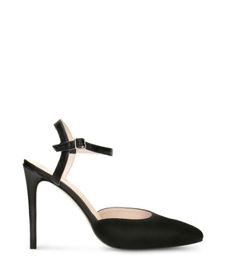 e6ac1afaecb6 Black suede   leather strappy heels Sale - Gino Rossi Sale