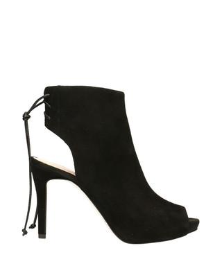 dde84d7ea7 Black suede cut-out peeptoe heels Sale - Gino Rossi Sale