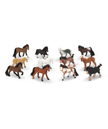 Image of 12pc Pasture Pals horse figure set