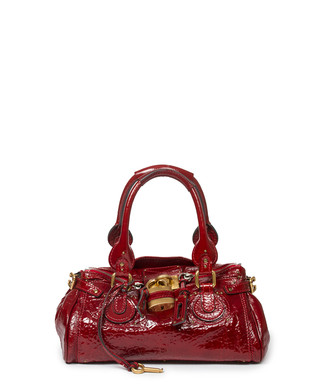d71ccdb52a8 Paddington red leather patent bag Sale - Vintage Chloé Sale