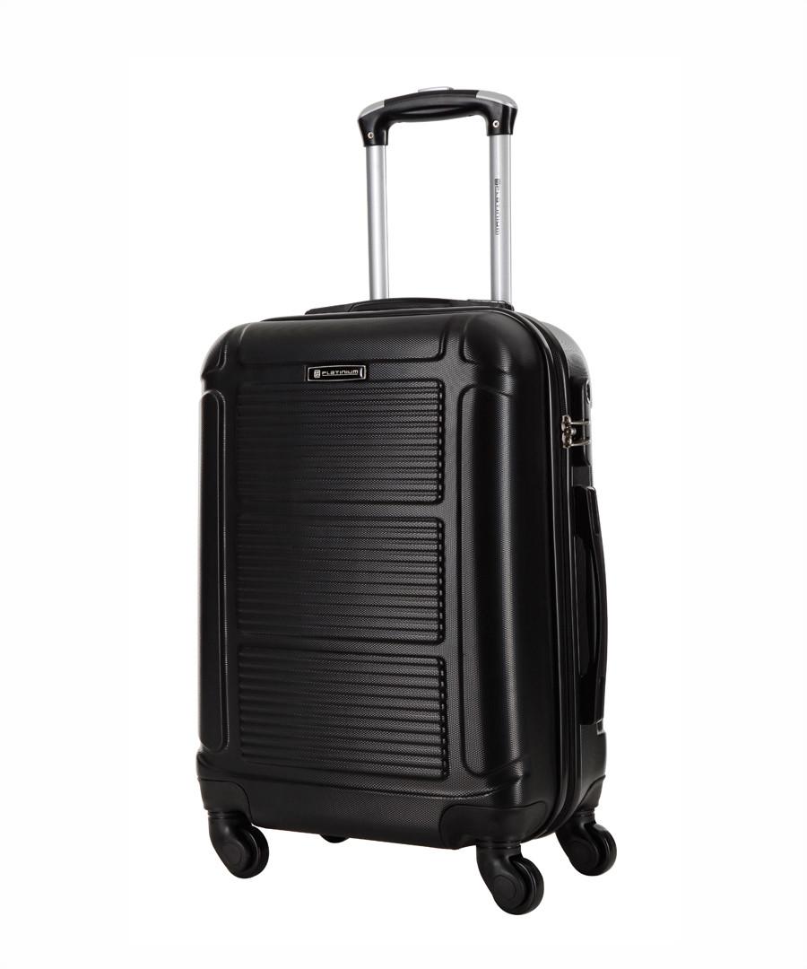 Black spinner suitcase 70cm  Sale - platinium