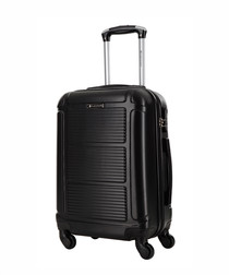 Black spinner suitcase 70cm