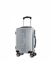 Renoma silver spinner suitcase 48cm