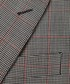 Grey & coral pure wool check blazer Sale - hackett Sale