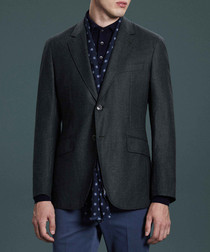 Mayfair green pure wool blazer