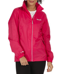 Corinne III pink zip-up jacket