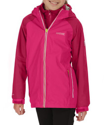 Luca IV pink 3-in-1 zip up hood jacket
