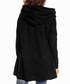 Black cotton blend hood sweatshirt Sale - awama Sale