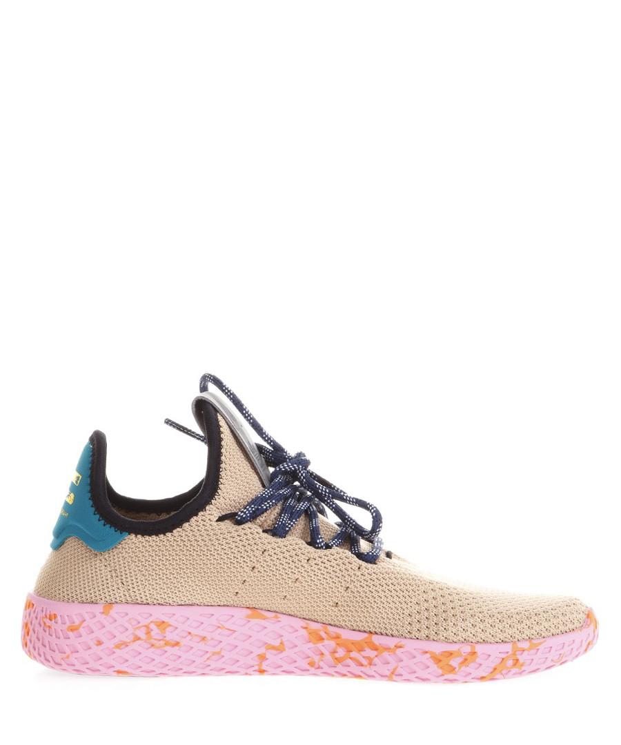 Tennis beige primeknit sneakers Sale - adidas = pharrell williams