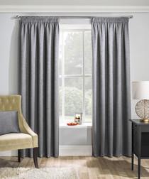 2pc Matrix grey curtains 168cm x 183cm