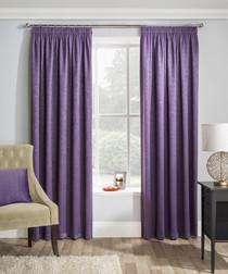 2pc Matrix grape curtains 168cm x 183cm