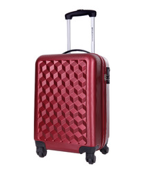 Lawrence bordeaux spinner suitcase 46cm
