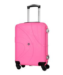 Hinakura pink spinner suitcase 53cm