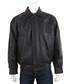 Men's Black leather long sleeve jacket Sale - woodland leather Sale