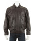 Men's Brown leather long sleeve jacket Sale - woodland leather Sale