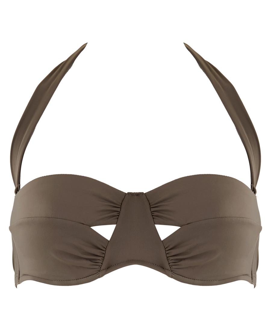 Sexy Chill khaki bandeau bikini top Sale - AUBADE