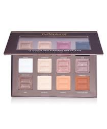 12 Colour Pro Natural eye palette