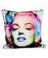 Marilyn white cotton blend cushion 55cm Sale - 1Wall Sale