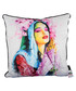 Faith white cotton blend cushion 55cm  Sale - 1Wall Sale