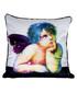 Cherub 1 white cotton blend cushion 55cm Sale - 1Wall Sale