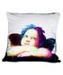 Cherub 2 white cotton blend cushion 55cm Sale - 1Wall Sale