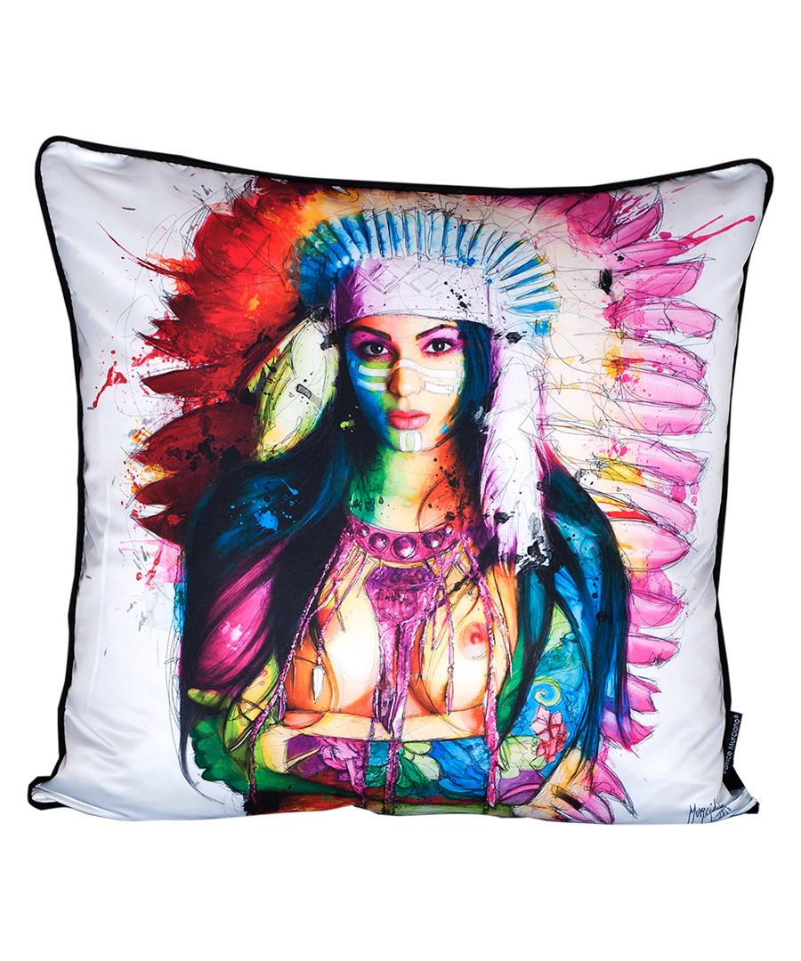 Dream Seeker cotton blend cushion 55cm Sale - 1Wall
