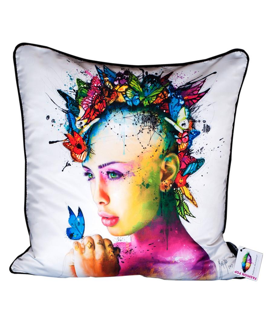 Power Of Love cotton blend cushion 55cm Sale - 1Wall