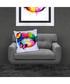 Butterfly Kiss cotton blend cushion 55cm Sale - 1Wall Sale