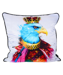 Royal Eagle cotton blend cushion 55cm