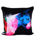 Bull Pop black cotton blend cushion 55cm Sale - 1Wall Sale